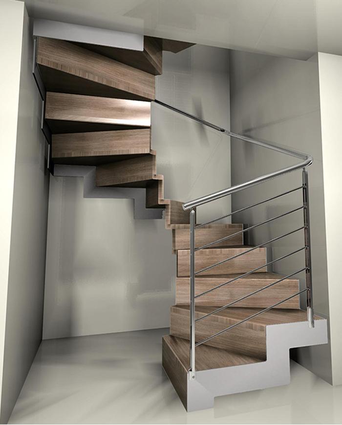 Escaleras de caracol - Empresa de escaleras | RF Serveis en Barcelona