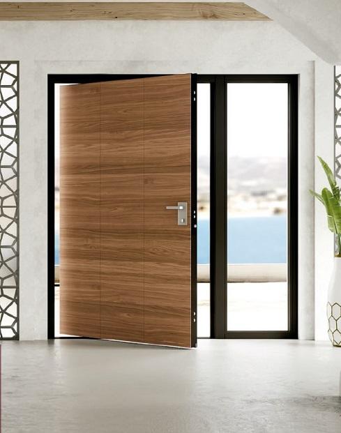 Puertas pivotantes de dise o en barcelona rf serveis - Puertas madera barcelona ...