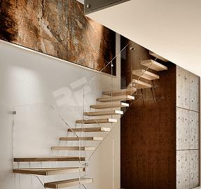 Imagen de escalera volada de diseño RFserveis