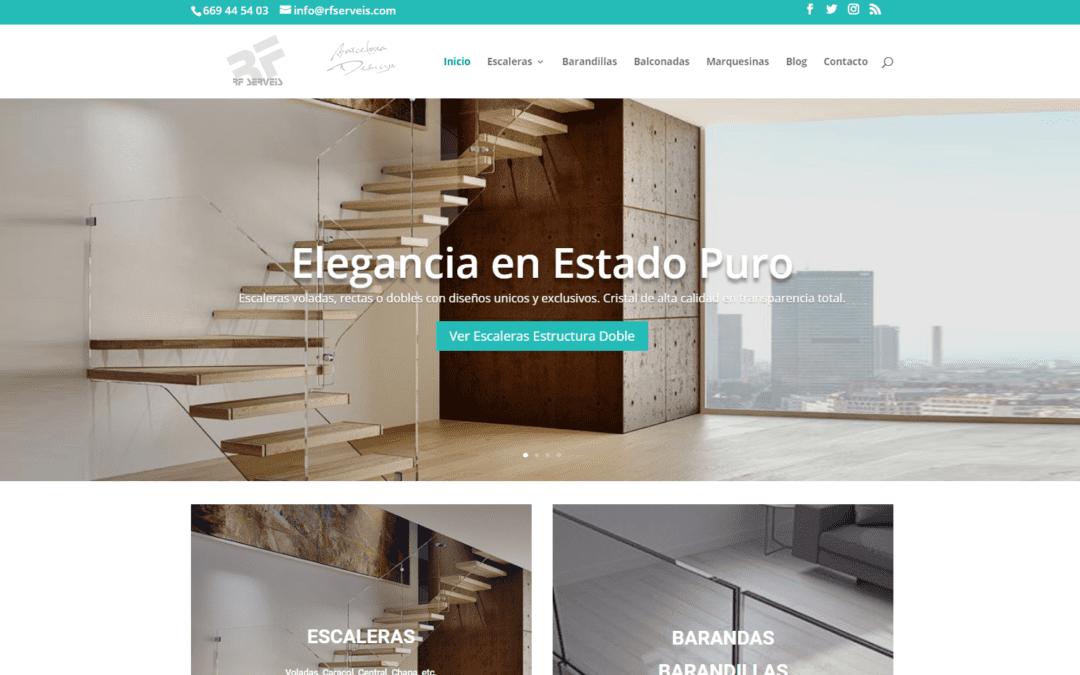 Nuevo diseño y estructura en nuestra web RFserveis