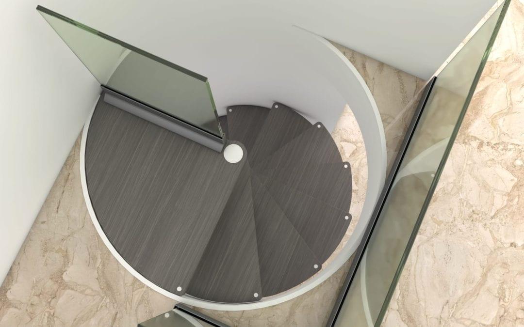 Diseño de escaleras de caracol a medida