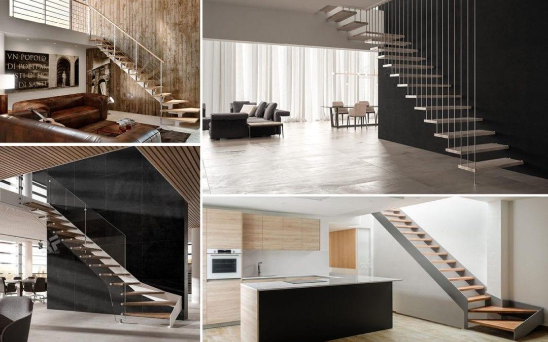 ¿Qué tipos de escaleras tenemos en RFserveis?